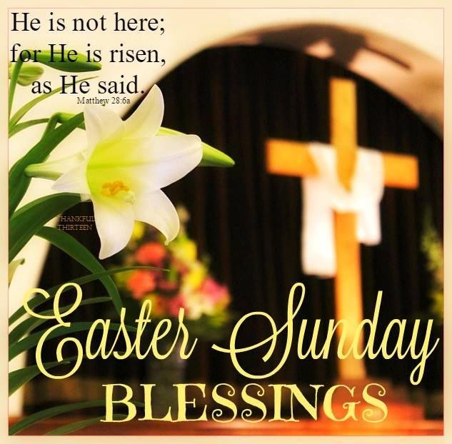 Easter Sunday Blessings Quote