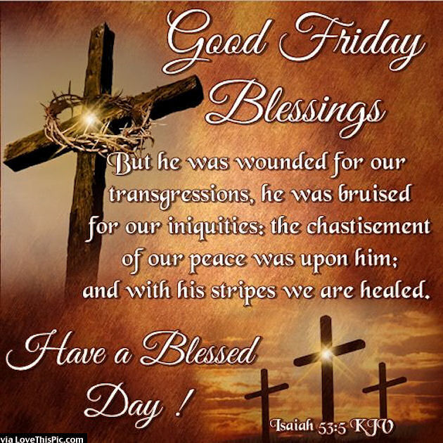 Good Friday Blessing Pictures