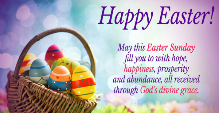 Happy Easter Sunday Messages
