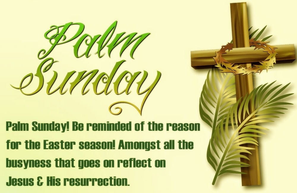 Happy Palm Sunday Quotes