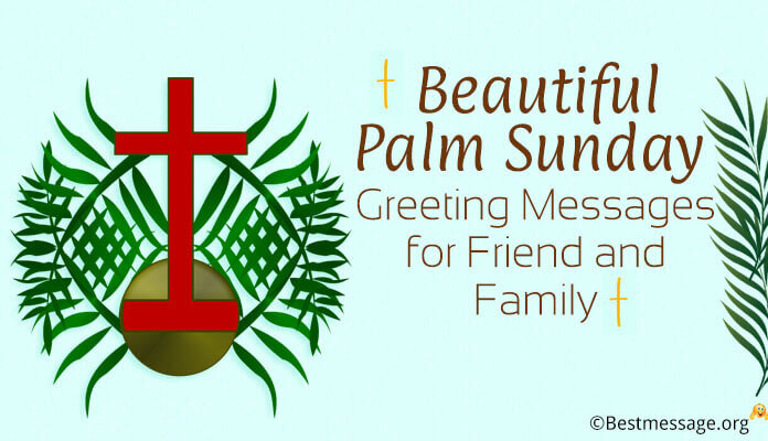 Palm Sunday Greetings Images
