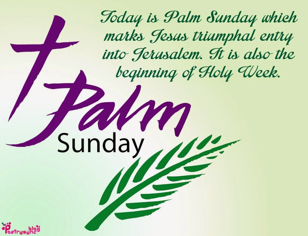 Palm Sunday Quotes