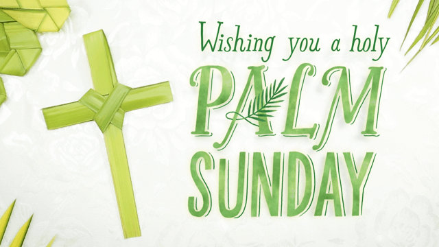 Palm Sunday Wishes Images