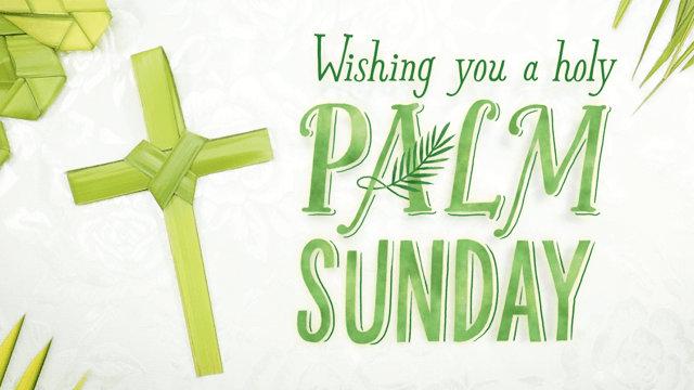 Palm Sunday Wishes Images