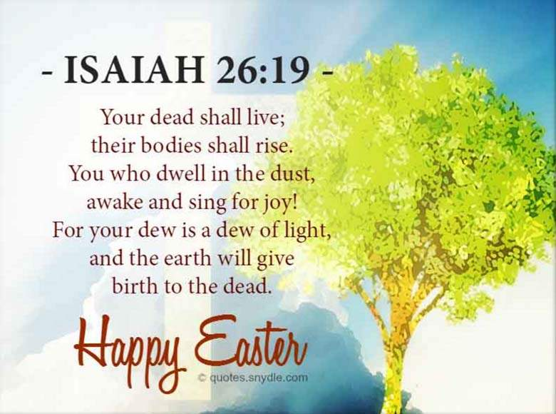 Short Happy Easter Quotes