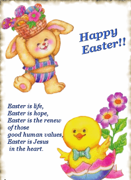 Easter Speech for Preschoolers