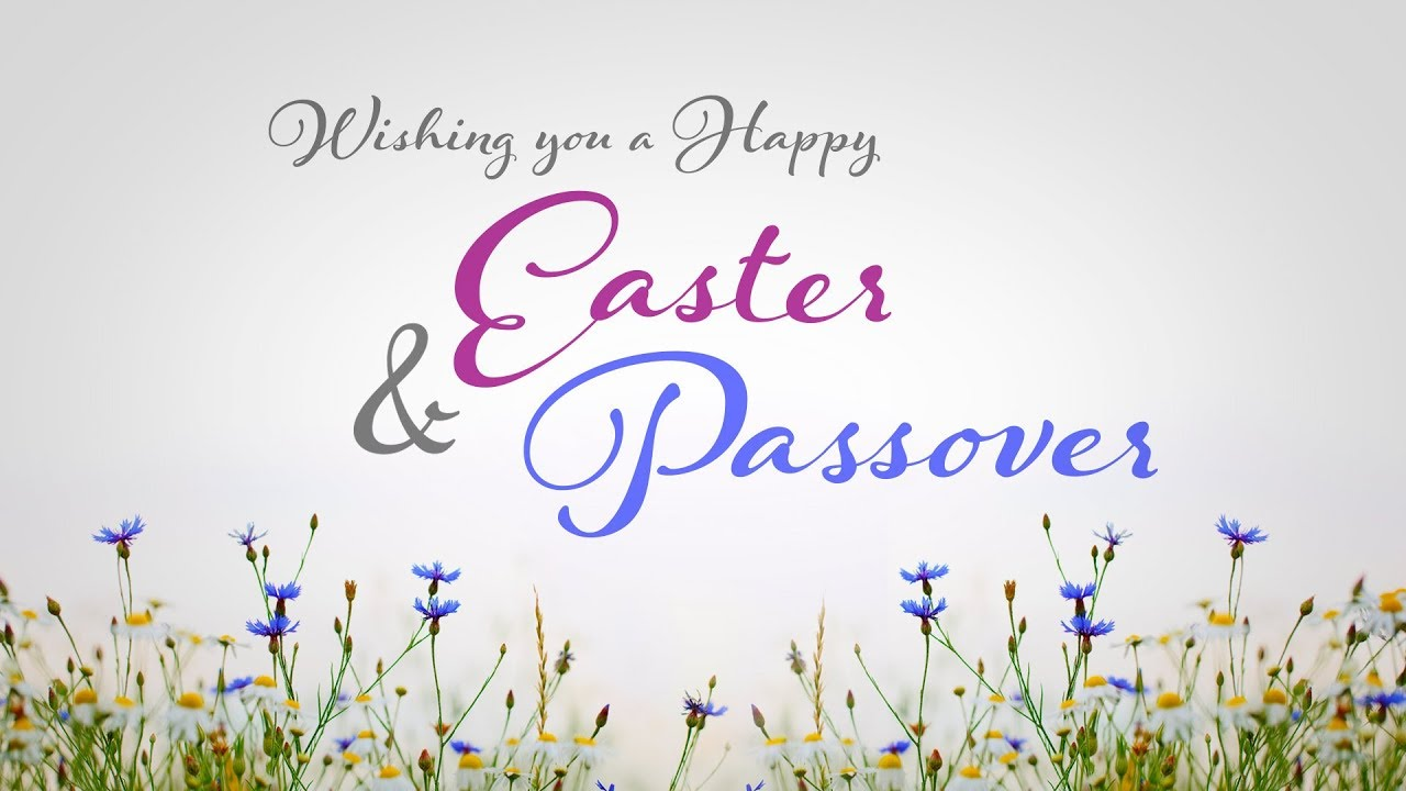 Happy Easter and Passover Images
