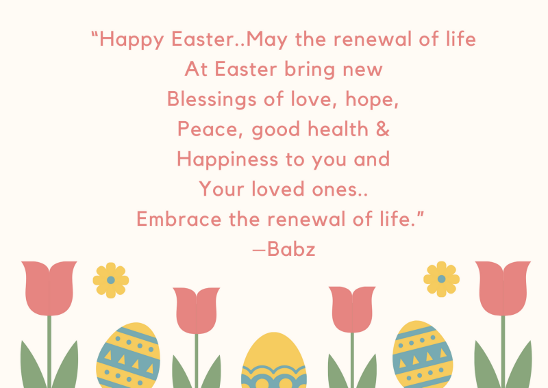 Happy Easter Poems For Kids