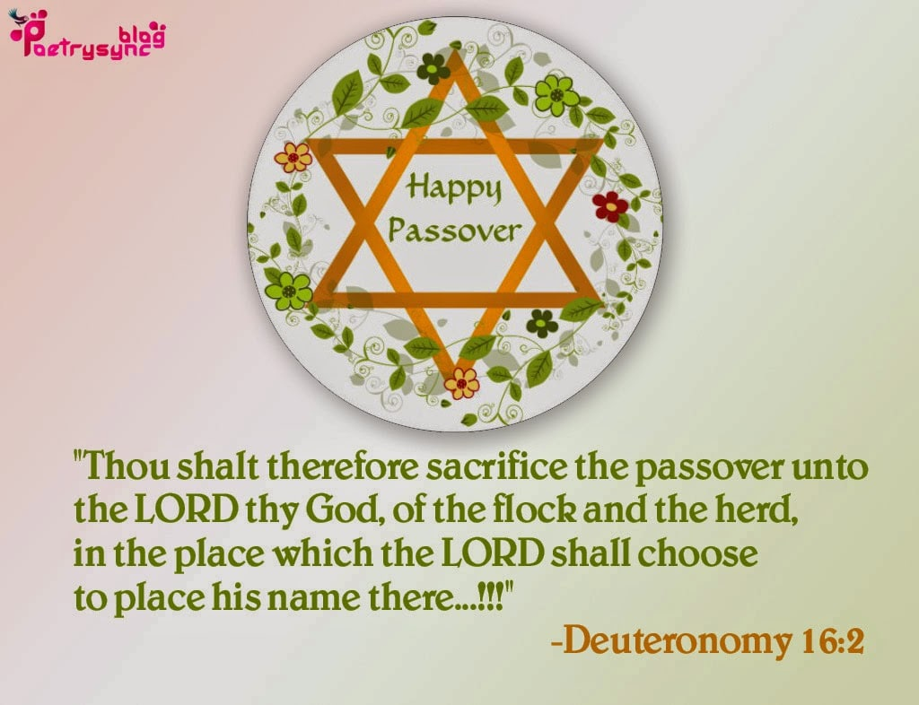 Happy Passover SMS Wishes