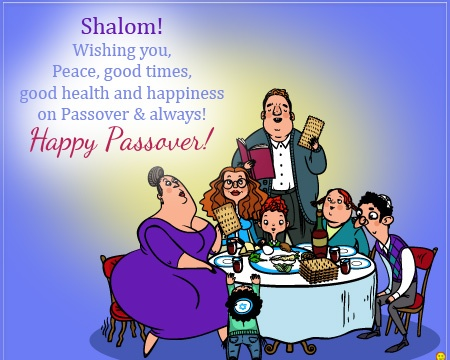 Happy Passover Wishes For Family