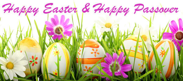 Happy Passover and Easter Greetings