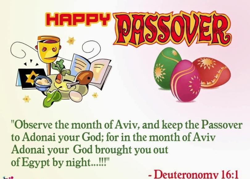 Passover Wishes For Greeting Cards