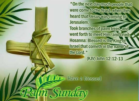 Religious Palm Sunday Quotes