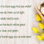 Short Easter Poems for Preschoolers