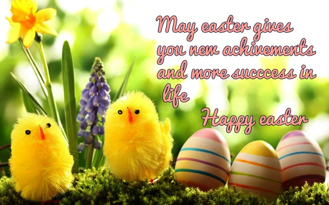 Happy Easter Greeting Sayings