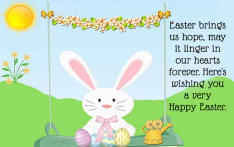 Happy Easter Messages For Family
