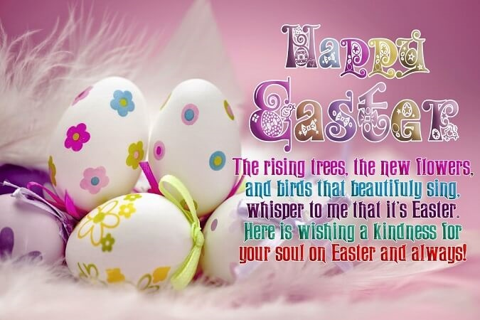 Happy Easter Messages to Friends