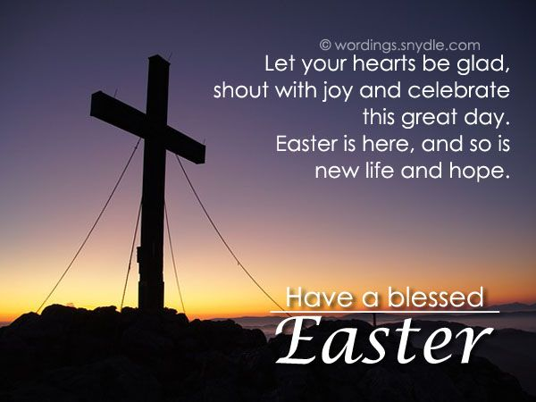Religious Easter Greetings 2021
