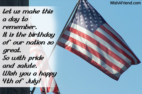 Best Happy 4th Of July Messages