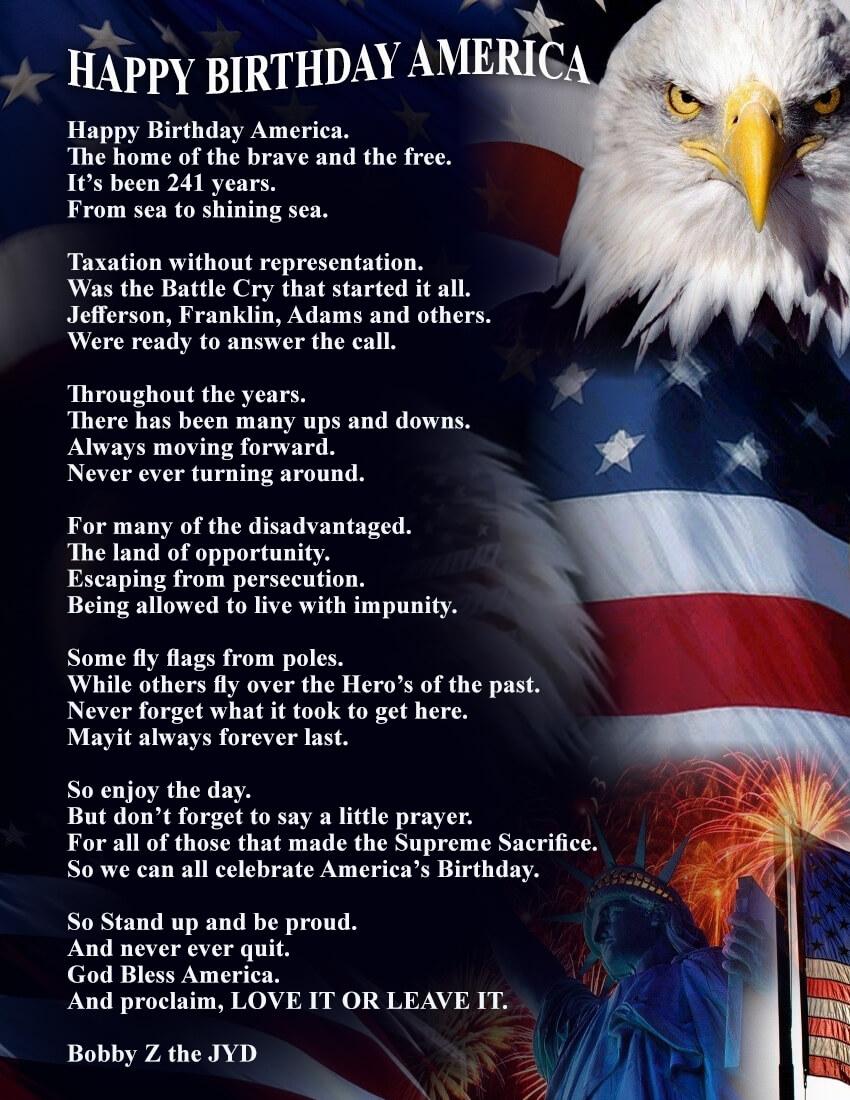 Happy Birthday America Quotes Images
