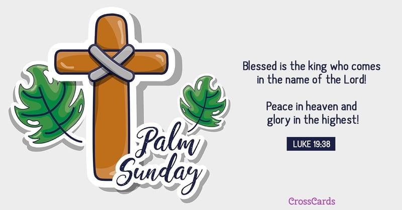 Inspiring Palm Sunday Bible Verses Quotes