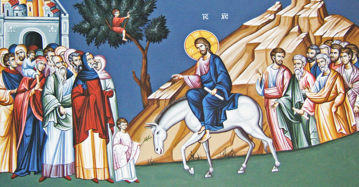 Palm Sunday Jesus Pictures