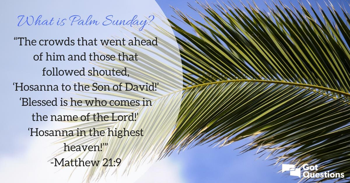 Palm Sunday Quotes With Pictures