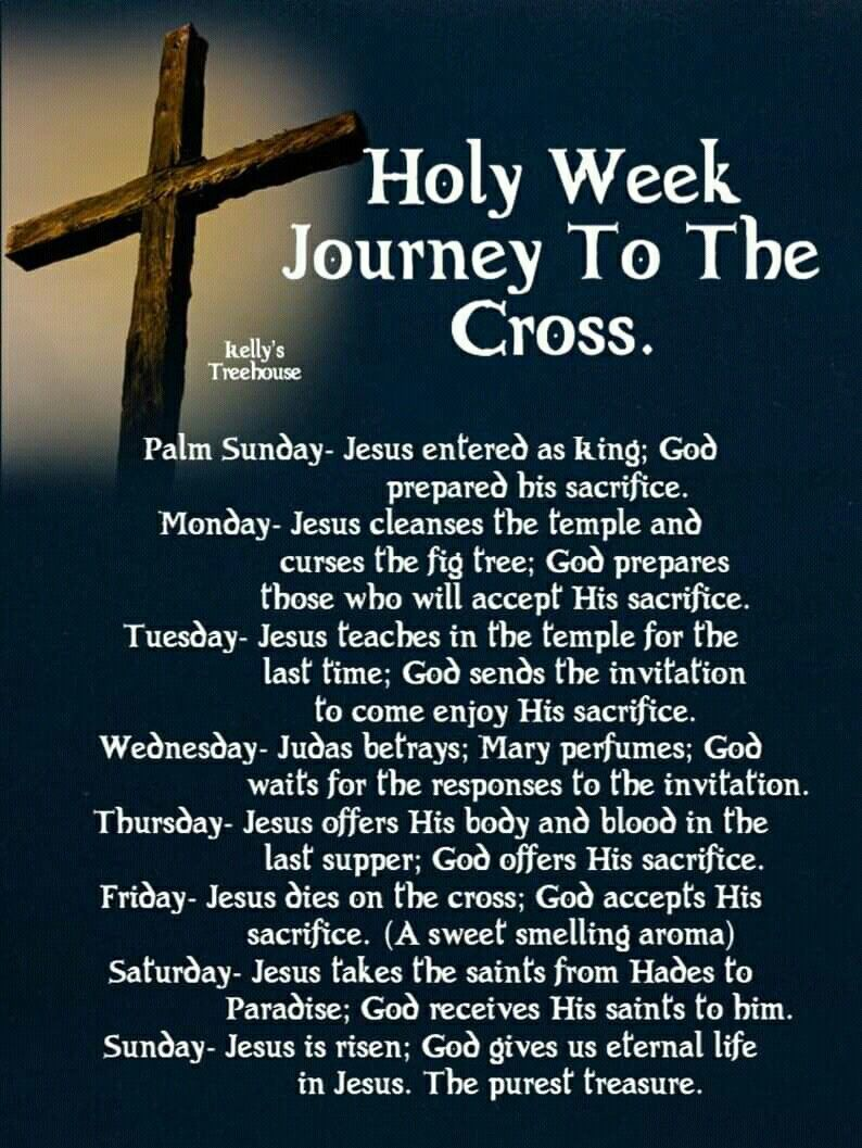 Holy Week Quotes and Sayings