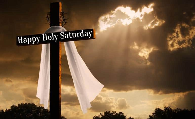 Happy Holy Saturday Images