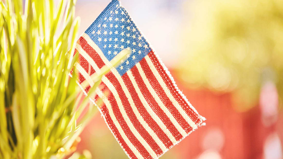 Memorial Day Flag Images